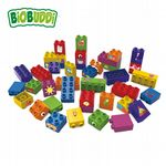 BiOBUDDi - Learning to build 40 blocks - Eco Friendly Block Set - 40 Blocks